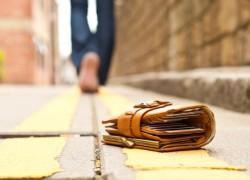 旅行先で財布を紛失し、警察のお世話になった